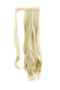 """MapofBeauty 20""""/50cm Long Curly Hair Extensions Warp with Ponytail"""
