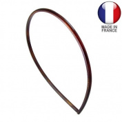 Hair Headband Hoop French mm4 Brown