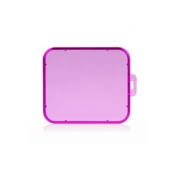 Laixing Stable Quality #A1172 Purple Snap-on Under Water Sea Dive Lens Colour Filter for SJ5000 WiFi Camera