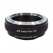 KECAY Lens Mount Adapter, Konica AR Lens to Fujifilm FX Camera Body, for Fujifilm FX X-Pro1, X-E1, X-M1, X-A1, X-M1, X-T1, X-T10 Camera