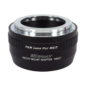 KECAY Lens Mount Adapter, TAMRON Lens to Micro 4/3 M4/3 Four Thirds System Camera Mount Adapter For Lumix G1 G2 G3 G10 GX1 GH1 GH2 GF1 GF2 GF3 GF5 GH4 Olympus PEN OM-D E-M5 E-M10 etc