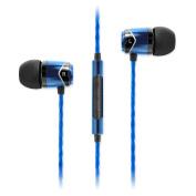 SoundMAGIC E10C In Ear Isolating Earphones with Mic - Black & Blue