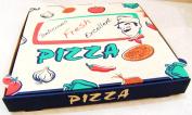 25cm Brown Pizza takeaway box