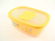 Snips Vegetables Aroma Keeper, Plastic, Yellow, 4 Litre