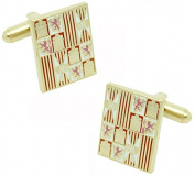 masgemelos - Twins Banner of arms Royal Catholic Cufflinks