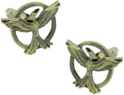 masgemelos - Cufflinks Hunger Games Mockingjay Cufflinks