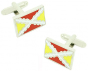masgemelos - Cufflinks Third Spain Flag Cufflinks