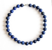 Necklace made of Lapis Lazuli Avetta - LASURIT BLUE Necklace, High Quality Necklace . and Elegant. Beautiful Necklace made of Natural Stones/Gemstones. Handcrafted Gemstone Jewellery