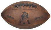 Wilson NFL Throwback Junior Football - New England Patriots