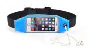 Touch Sensitive Waterproof Waistband Pouch Bag Case Running GYM Sport Armband Cover for Iphone 6 6s plus 5 for Lenovo s850 a6000