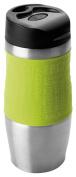 Ibili 799904 Mug Plastic/Stainless Steel/Stainless Steel Green 400 ml 6 x 6 x 20 cm
