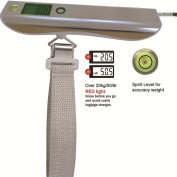 Eastlion Luggage Scale Portable Scale Electronic Scale Fishing Scale White