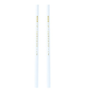 2pcs 7mm White Wax Pencil Pen Rhinestone Picker Up Gem Bead Nail Art Craft Tool