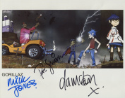 The Gorillaz (Band) SIGNED Photo 1st Generation PRINT Ltd 150 + Certificate