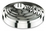 Lacor-68607-ROUND CAKE RING 7X6 CM. S/S. 18/10