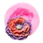 YL Flower Y507 Silicone Sugar Resin Craft DIY Moulds DIY gum paste flowers Cake Decorating Fondant Mould