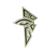 Ingress Enlightened Eye Faction Pin 40mm