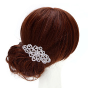 Vintage Bridal Rhinestone Hair Comb Accessories Wedding Gift Lover