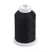 Sulky Of America 268d 40wt 2-Ply Rayon Thread, 1500 yd, Black