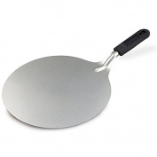 Kabalo Large Stainless Steel Round Cake & Pizza Lifter Serving Tool - 25cm