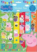 Peppa Pig Sticker Fun with 5 sticker sheets