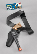 Cowboy Holster/Gun Set Adult Weapon Accessory for Wild West Fancy Dress Weapon
