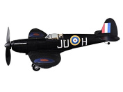 Supermarine Spitfire Nightfighter complete vintage model rubber-powered balsa wood aircraft kit that really flies!