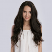 KINGHAIR® Dark Brown(#2) Clip In Remy Hair Extensions