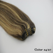 """Remy 100% Human Hair Straight Weaving Weft Hair Extensions 16""""18""""20""""22""""24""""26"""" 100g Black Brown Blonde Colours"""