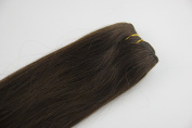 "Remy 100% Human Hair Straight Weaving Weft Hair Extensions 16""18""20""22""24""26"" 100g Black Brown Blonde Colours"