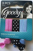 Goody Ouchless Elastic Ribbons Hair Ties, 3-ct