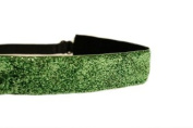 Mavi Bandz Adjustable Non-Slip Fitness Headband Sparkle - Lime Green