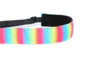 Mavi Bandz Adjustable Non-Slip Fitness Headband - Rainbow