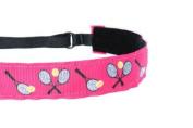 Mavi Bandz Adjustable Non-Slip Fitness Headband Tennis - Pink