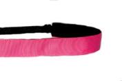 Mavi Bandz Adjustable Non-Slip Fitness Headband in Plain Jane - Pink