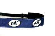 Mavi Bandz Adjustable Non-Slip Fitness Headband Running 5K - Navy
