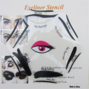 SaiDeng Makeup Beauty Cat Eyeliner Smokey Eye Stencil Models Template Shaper Tool New