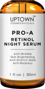 Uptown Cosmeceuticals Pro-A Retinol Anti-Ageing and Anti-Wrinkle Night Serum for Face, 30 ml
