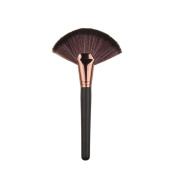 Toraway Pro Large Fan Goat Hair Blush Face Powder Foundation Makeup Brush