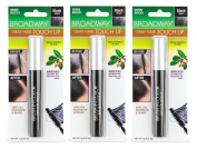Kiss Quick Cover Brush-in Colour Touch up [ Black ] [Pack of 3]