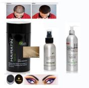 Hairatin Hair Fibre Set (Fibre Spray)+Clarifying Shampoo +Matching ITAY Brow Fibre