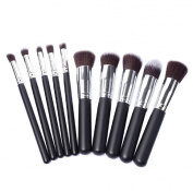 Tenworld Pro Makeup Set Tools 10pcs Cosmetic Makeup Brush Eyeshadow Brush