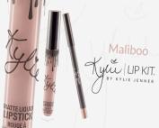 KYLIE lip kit MALIBOO liquid lipstick and liner