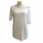 Orangeskycn Women Summer Short Sleeve Blouse Casual Tops T-Shirt