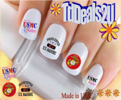 Military - Marine USMC SISTER - WaterSlide Nail Art Decals - Highest Quality! Made in USA