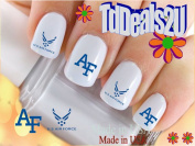 Military - Air ForceWings - WaterSlide Nail Art Decals - Highest Quality! Made in USA