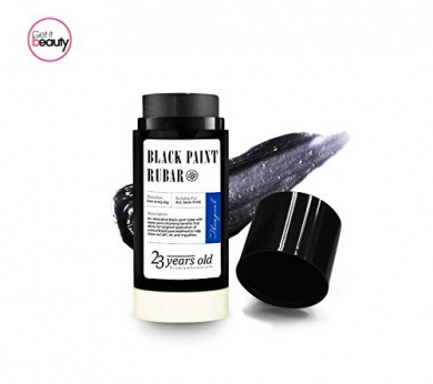 23 Years Old Aqua Black Paint Rubar (Black n White head Scrub Bar)