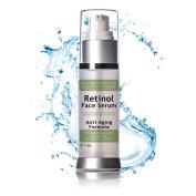 Retinol Serum for Proven Skin Treatment & Retinol Skin Rejuvenation - Ageless looking skin with Retinol & Vitamins A E - Activates collagen Best for Fine Line & Wrinkles - Anti-Ageing Serum Moisturiser