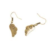 1 Pair Fashion Jewellery Making Charms Earrings Backs Findings Arts Crafts Hooks Bulk Lots Wholesale Supplier B4QH0 Angel Cupid Wings