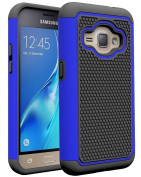 J1 2016 Case, Galaxy Amp 2 Case, Galaxy Express 3 Case, Asstar Hybrid Dual Layer Armour Defender Protective Case Cover for Samsung Galaxy J1 2016 / Amp 2 / Express 3